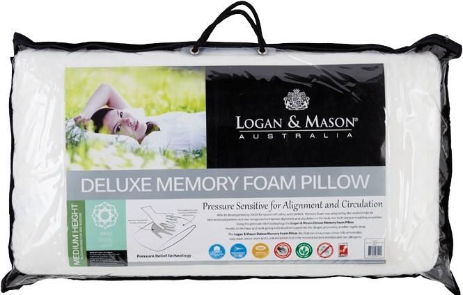 Logan and Mason Deluxe Memory Foam Pillow