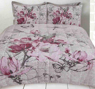 Retro Home Botanical Quilt Cover Set