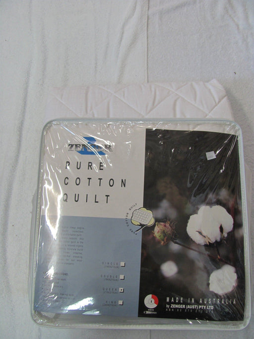 Zenger Pure Cotton Australian Made Quilt