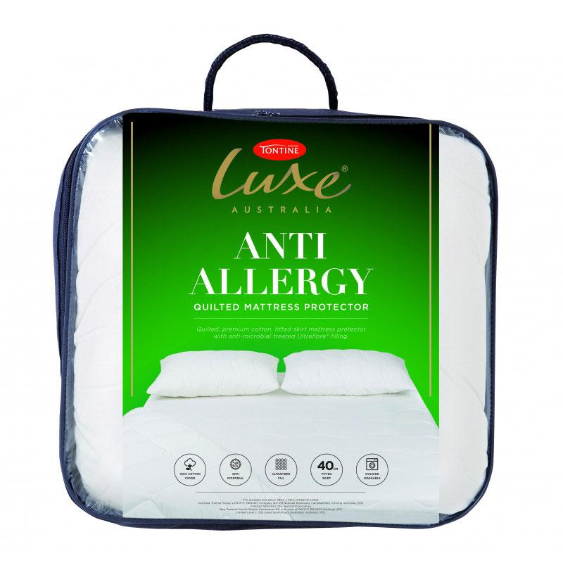 Tontine Luxe Anti Allergy Sensitive Mattress Protector At
