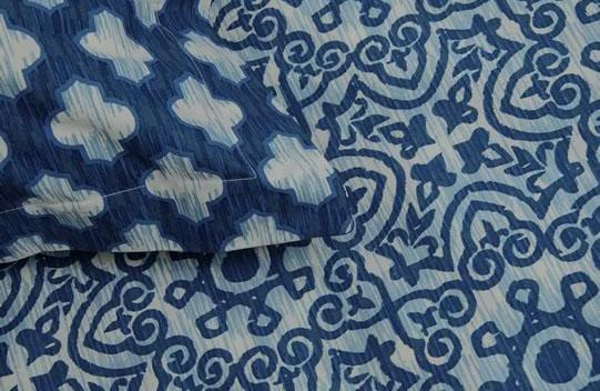 Ardor Arabesque Indigo Quilt Cover Set or Accessories