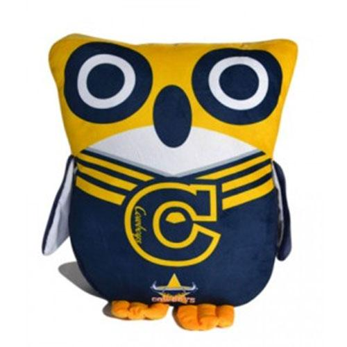 Official NRL North Queensland Cowboys Owl Shaped Cushion