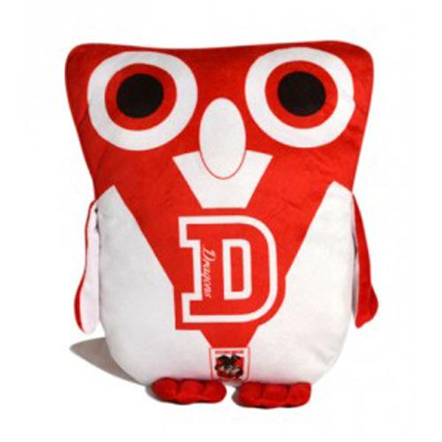 Official NRL Illawarra Dragons Owl Shaped Cushion