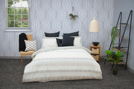 Apartmento Inga Grey Quilt Cover Set
