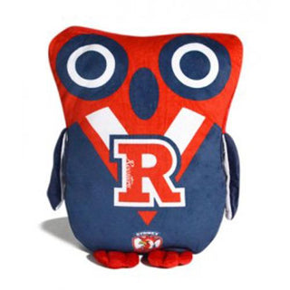Official NRL Sydney Roosters Owl Shaped Cushion