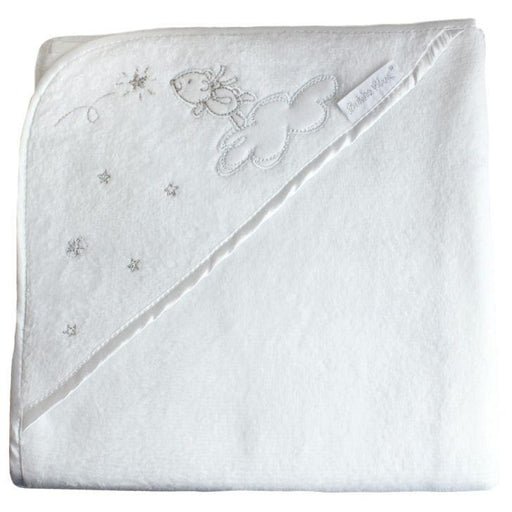 Bubba Blue Wish Upon A Star Embroidered Hooded Towel