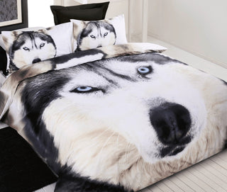 Georges Fine Linen Wolf Quilt Cover Set or Accessories