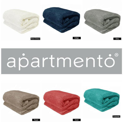 Apartmento Diamond Fleece Blanket