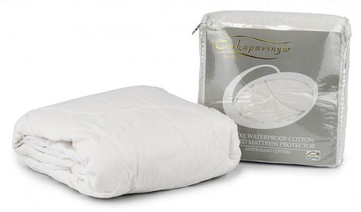 Onkaparinga Deluxe Waterproof Cotton Quilted Bassinet Mattress Protector