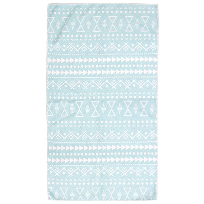 Bambury Printed Microfibre Pacific Gym Towel (Twin Pack)