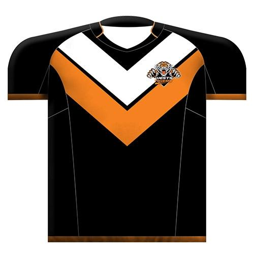 Official NRL Wests Tigers Jersey Cushion