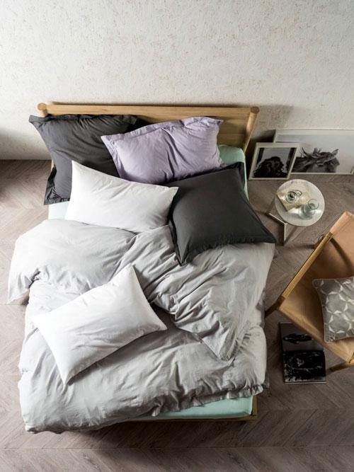 Linen House Elka Silver Quilt Cover Set