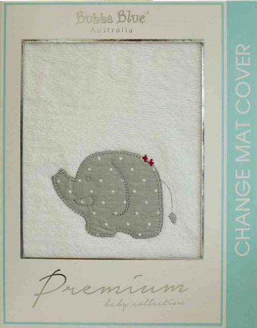 Bubba Blue Petit Elephant Change Pad Covers