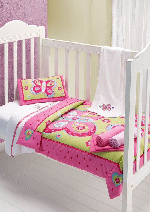 Cot Quilt and Pillow