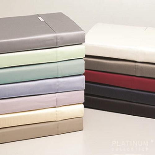 Logan & Mason Platinum 400 Thread Count 100% Egyptian Cotton Pillowcase (Standard or European)