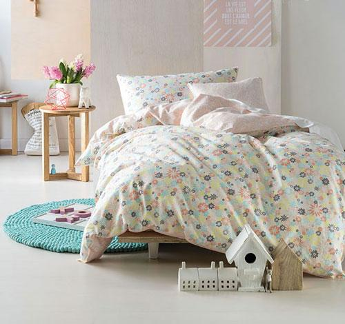 Marie Claire Mini Cecile Pink Quilt Cover Set
