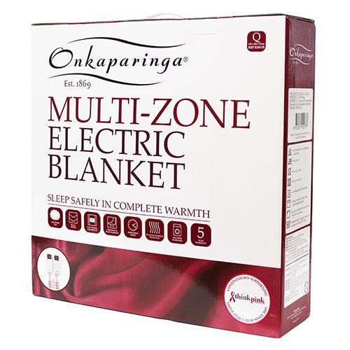Onkaparinga Multi-Zone Electric Blanket