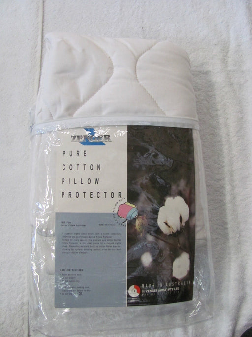 Zenger Pure Cotton Pillow Protector