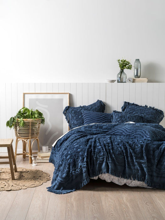 Linen House Denim Somers Bed Cover