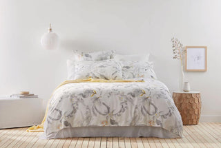 Sheridan Kurana Dove Quilt Cover + 2 x Pillowcases