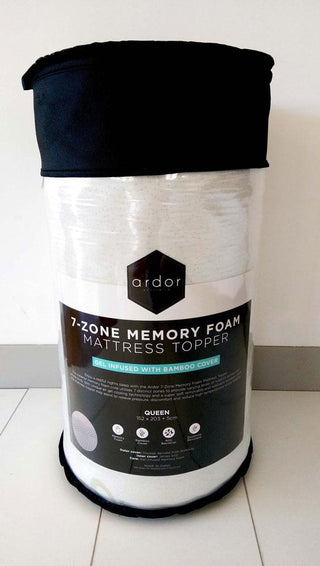 Ardor 7 Zone Gel Infused Memory Foam Topper