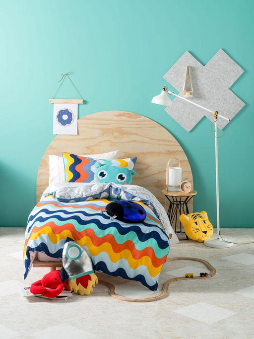 Hiccups Wavelength Quilt Cover Set