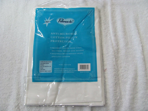 Pinnacle Anti Microbial Cotton Pillow Protector 2 Pack