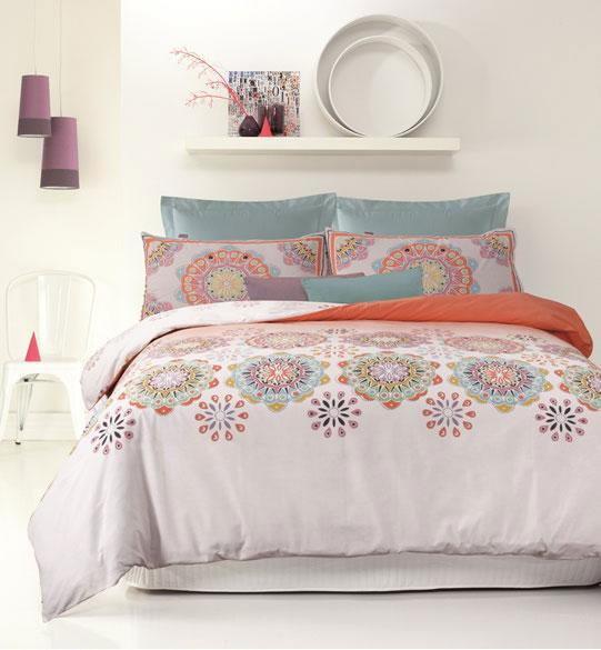 Apartmento Spiral Quilt Cover Set