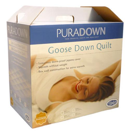 Puradown 80% Goose Down Goose Feather (2 in 1) Quilt