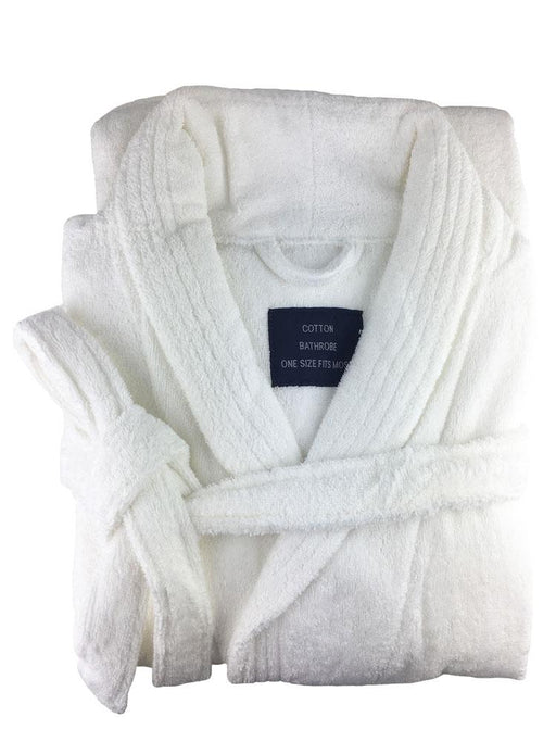 Kingtex Soft Touch Luxury Egyptian Cotton Bathrobe