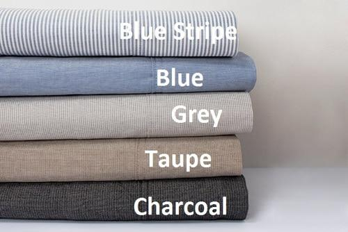 Bambury Chambray Sheet Sets with 50cm Deep Wall