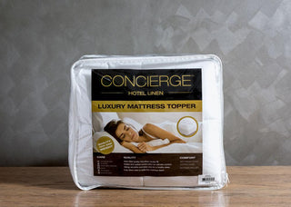 Concierge Hotel Linen Luxury Mattress Topper