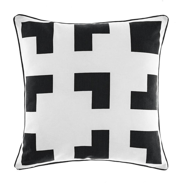 Deco City Living Meta Black Cushion (45x45cm)
