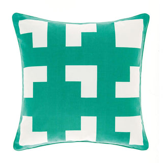 Deco City Living Meta Green Cushion (45x45cm)