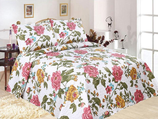 Emporio Flora Coverlet Set