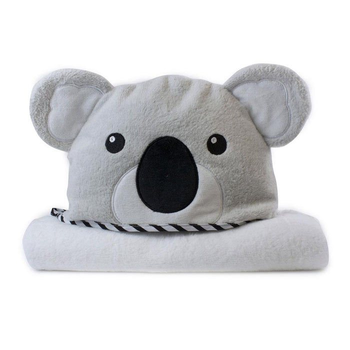 Bubba Blue Aussie Animals Kip Koala Novelty Hooded Towel