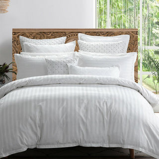 Private Collection Normandy White Quilt Cover Set
