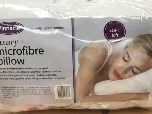 Pinnacle Luxury Microfibre Soft Pillow