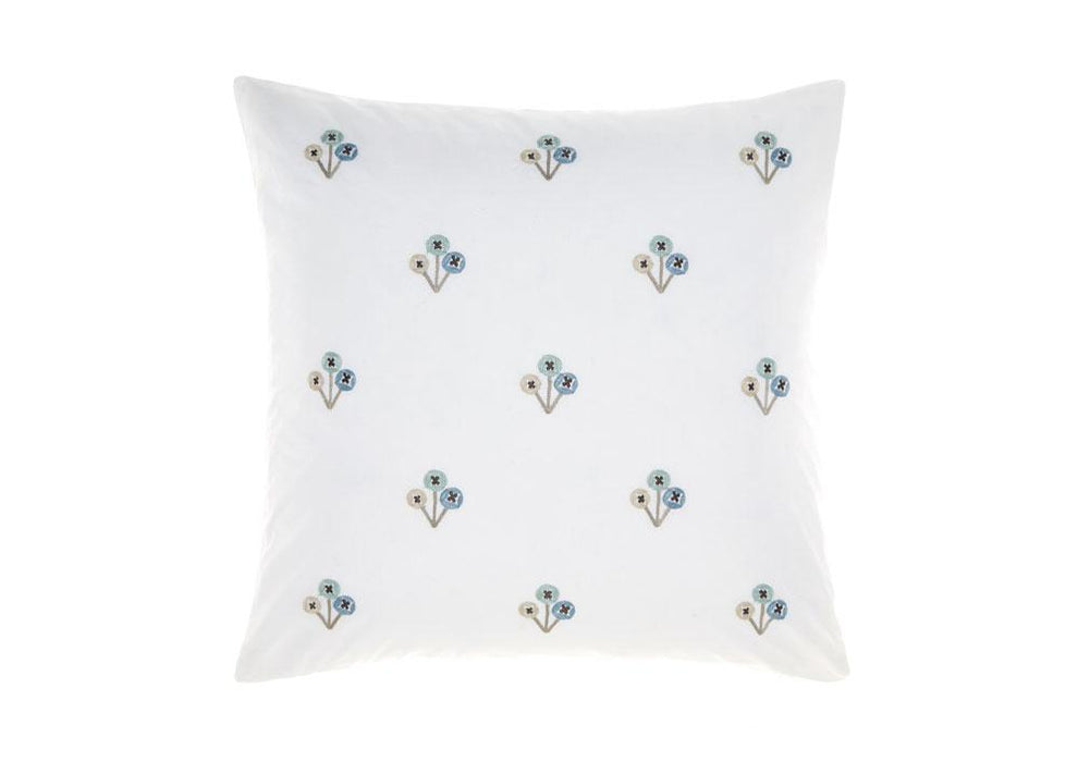 Linen House Darwin Mint Square Cushion (50x50cm)