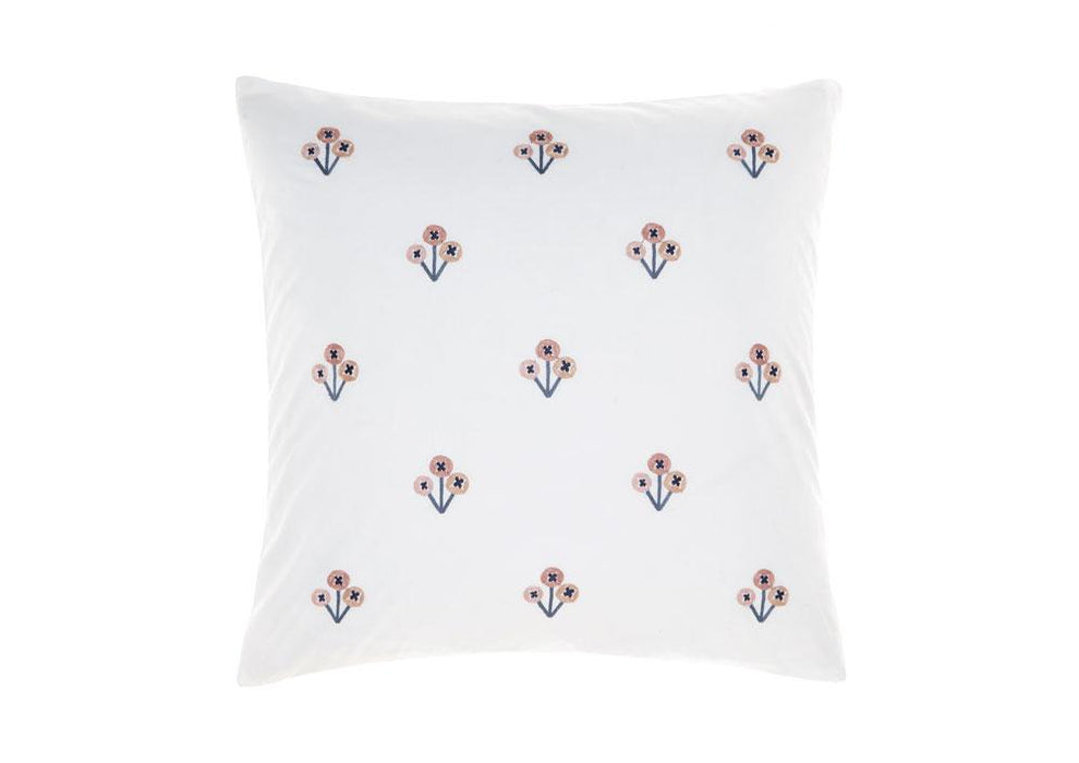 Linen House Darwin Rose Square Cushion (50x50cm)