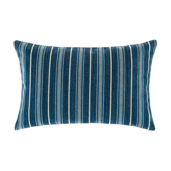Linen House Franklin Denim Cushion (35x55cm)