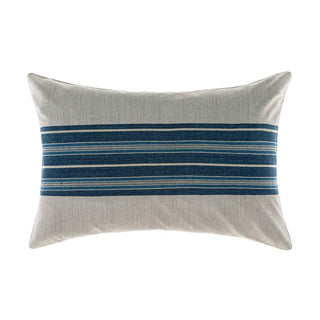 Linen House Franklin Denim Long Cushion (40x60cm)