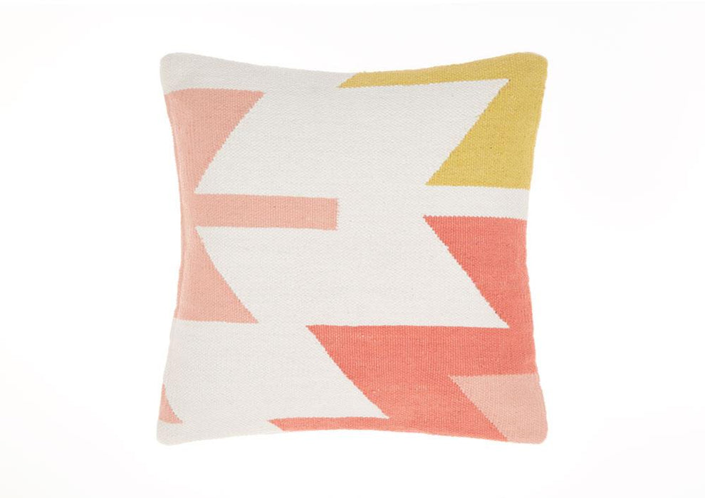 Linen House Kaya Melon Cushion (50x50cm)