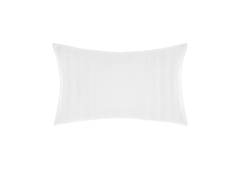 Linen House Hotel Collection 500TC Lawson White Long Cushion