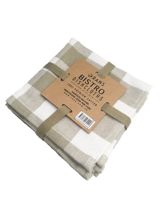 Rans Bistro Dishcloth 4 packs of 5 pieces