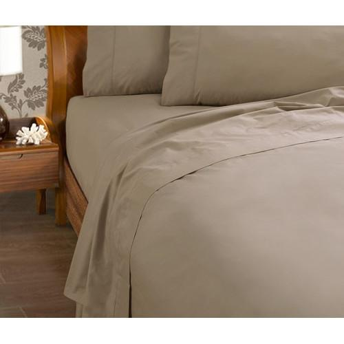 Kingdom Percale 225 Thread Count Fitted Sheet