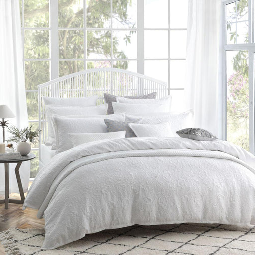 Private Collection Etoile White Quilt Cover Set