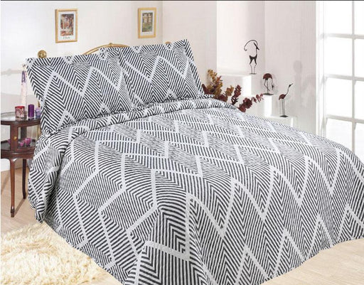 Emporio Zigzag Coverlet Set