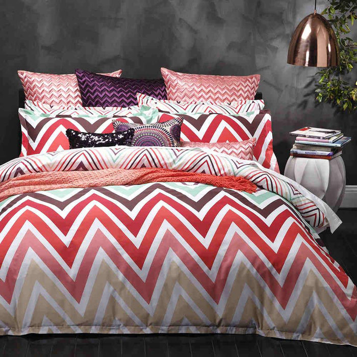 Logan & Mason Carnival Multi Quilt Cover Set