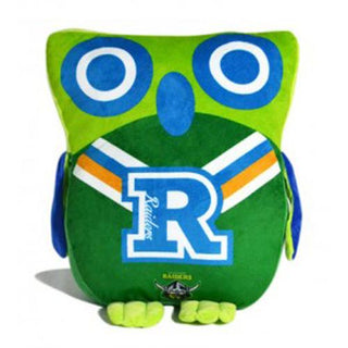Official NRL Canberra Raiders Owl Shaped Cushion